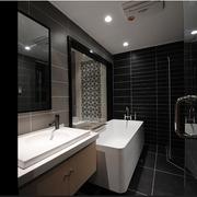 中式家居风格浴室装修图