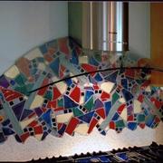 现代家居效果图厨房背景墙
