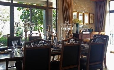 沉稳东南亚风格住宅欣赏餐厅