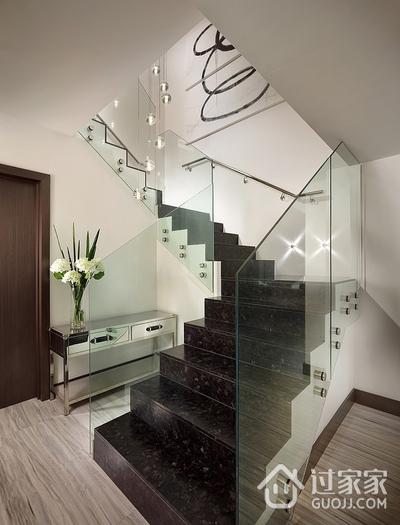 107平简约风格三居室欣赏楼梯间