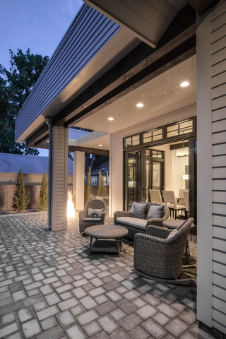 欧式装饰别墅套图欣赏庭院设计