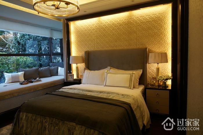 新古典低调样板间欣赏卧室飘窗设计