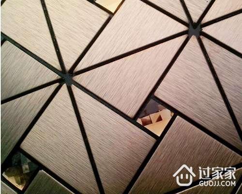 金属砖的铺贴小方法