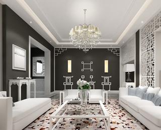 整洁新中式住宅欣赏