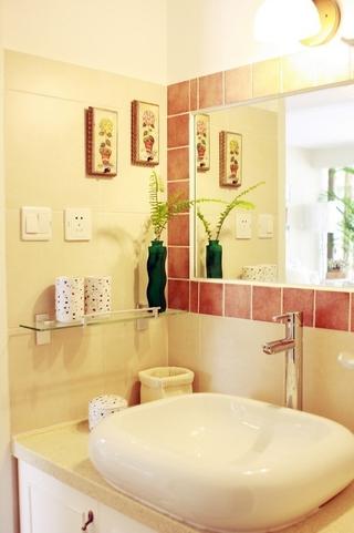 山村田园风住宅欣赏洗手间