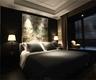 中式风格卧室背景墙效果图