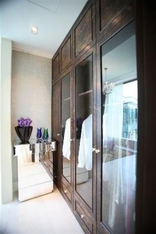 新古典三居室案例设计欣赏卧室衣柜