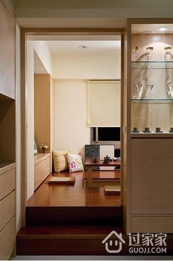 122平简约三居室欣赏卧室榻榻米设计