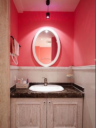 美式乡村恬静三居室欣赏洗手间