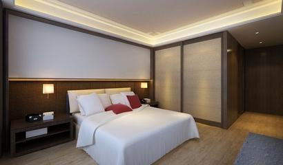 新中式卧室灯饰装饰图 温馨美居