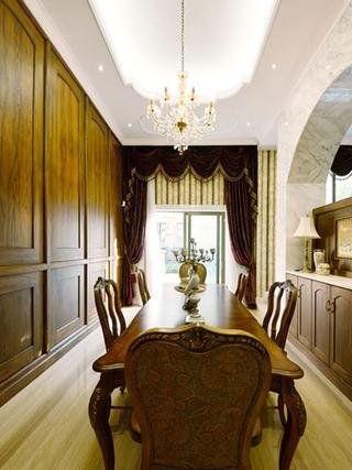 浪漫法式风格住宅欣赏餐厅