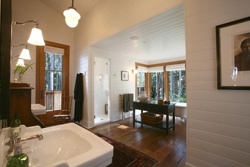 印度亨利岛美式别墅住宅卫浴间