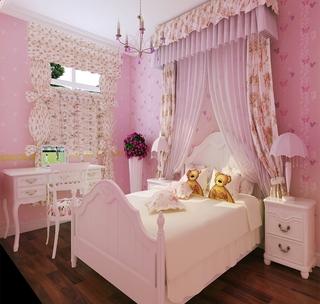 112平欧式三室两厅欣赏儿童房