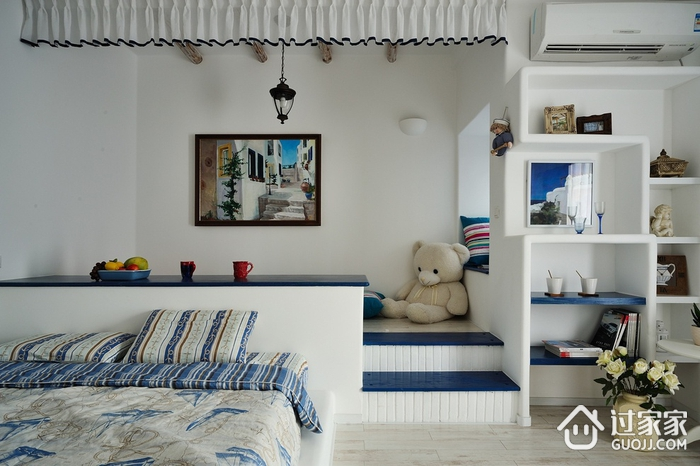 浪漫地中海住宅欣赏卧室榻榻米
