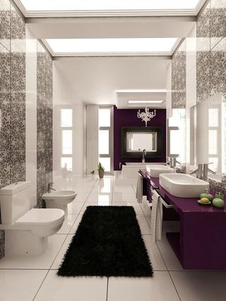简约家装两居室设计欣赏卫生间