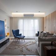 奢华新中式小客厅