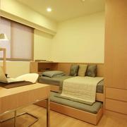83平日式风格住宅欣赏卧室效果
