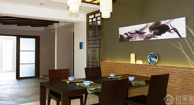 家居餐厅墙面装饰首选硅藻泥 让您享受愉快的用餐时光!