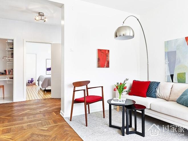 白色宜家风情公寓欣赏