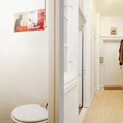 38平纯白地板住宅欣赏卫生间陈设