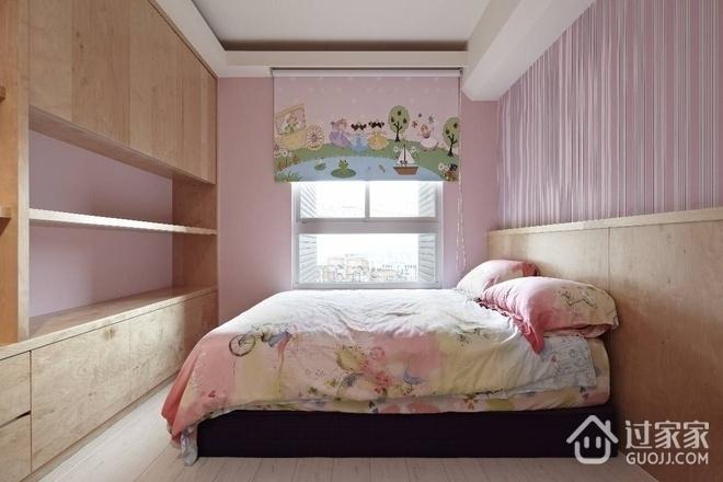 102平简约雅致三居室欣赏卧室衣柜