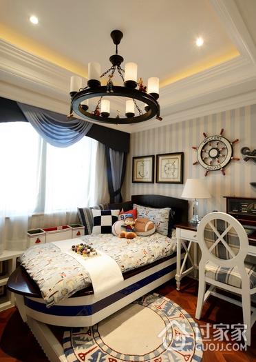 美式卧室创意灯饰效果图 强烈推荐
