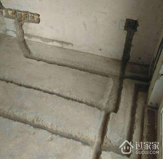 水电点位放线和开槽