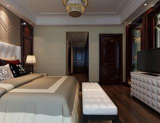 新古典大四居住宅欣赏卧室吊顶