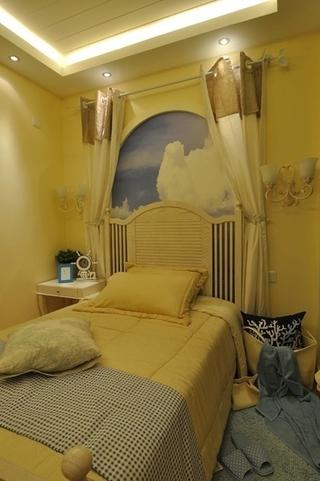81平田园风格三居室欣赏儿童房