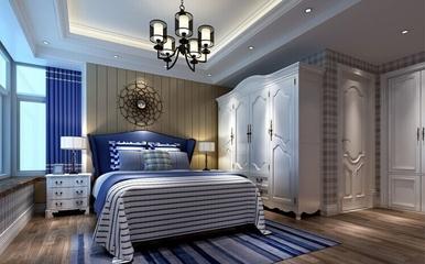 卧室灯饰装饰效果图 明亮大气