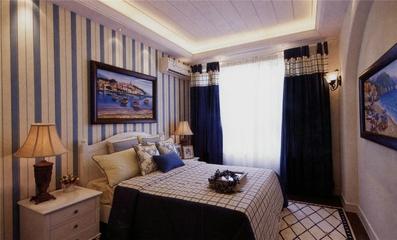 品质地中海住宅欣赏卧室背景墙
