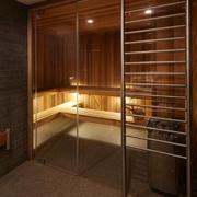 现代风格设计图桑拿房