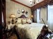 田园风格效果卧室效果图