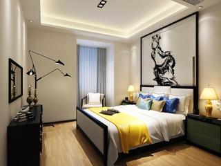 简约住宅案例欣赏卧室吊顶
