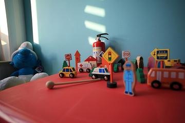 84平舒适现代三居欣赏儿童房效果