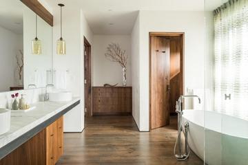 现代别墅装饰效果套图卫生间