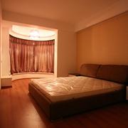 现代风卧室飘窗