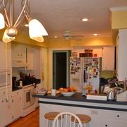 混搭别墅家装效果图厨房图片