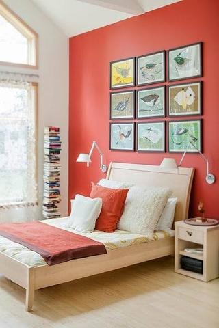 木质美式别墅欣赏卧室