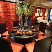 餐桌花艺设计