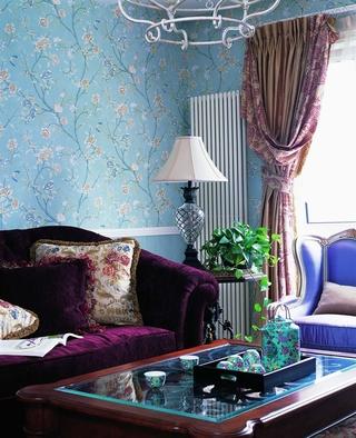 田园乡村风格案例欣赏客厅设计