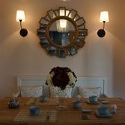 77平美式风小户型欣赏餐厅设计