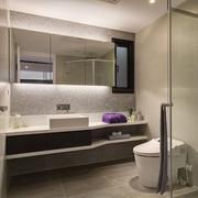69平现代老房改造欣赏卫生间设计