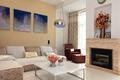 现代风格装修住宅客厅家具陈设