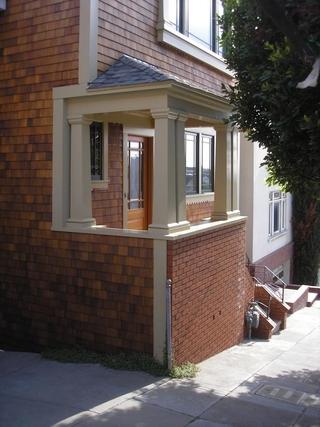 别墅入室楼梯角