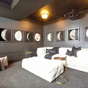细节营造迷人现代别墅欣赏卧室陈设