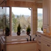 美式风格大户型浴室装修效果图