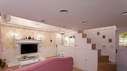 粉丝住宅小一居欣赏客厅设计