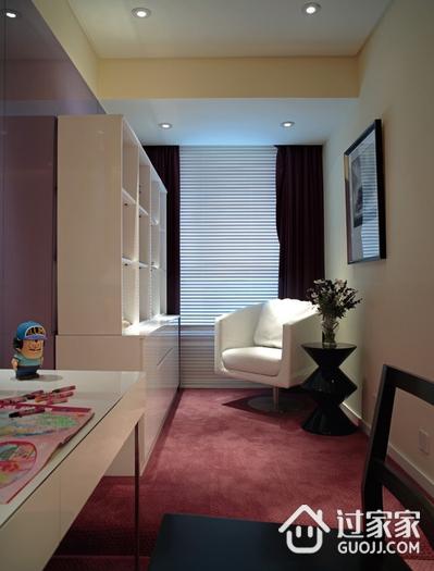 卧室书柜设计效果图 现代简约风