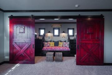 美式别墅设计套图欣赏家庭厅